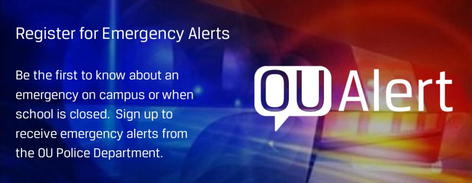 Register for Emergency Alerts