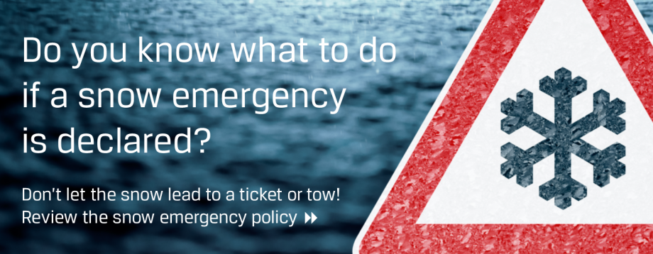 Snow Emergency Information