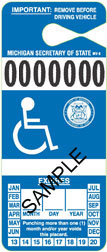 Disability Parking Placard