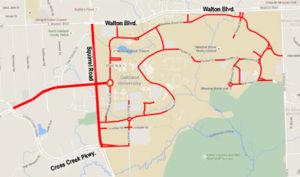 Project SAFE Streets enforcement zones