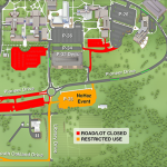 South campus road restrictions to support hazardous waste drop-off